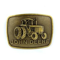 agricultural belt - Retail john deere agricultural machinery logo belt Buckles metal Custom Belt Buckle DIY Belt Accessories cowboy buckle