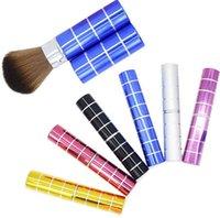 al por mayor mejores ofertas de belleza-Best Deal nuevo Maquillaje cepillo de metal cepillo de maquillaje titular de la Fundación Blusher cepillo de cosméticos herramienta para la belleza de las mujeres