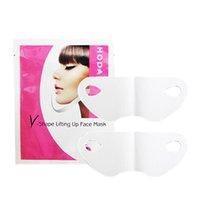 acid wrap - 1PCS Beauty Skin Care Lifting Up Slim V Shape Face Mask Anti Asing Moisturizing Female Liquid Wrapped Mask Make Face Small