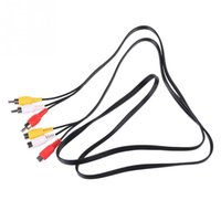 av cable extension - 3RCA Male to RCA Female Cable m RCA Audio and Video AV Extension Cable soft plastic Cable