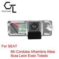 auto seat ibiza - For SEAT Mii Cordoba Alhambra Altea Ibiza Leon Exeo Toledo Wireless Car Auto Reverse CCD HD Rear View Camera Parking Assistance