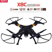 Wholesale SYMA X8C Ghz Axis Gyro RC Quadcopter Drone UAV RTF UFO MP HD Camera Wide Angle RC Quadcopter Remote Control Helicopter