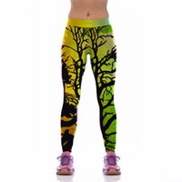 Wholesale Styles Women Fitness Running Tights Leggings Sports Yoga Pants New D Printing Yoga Clothes calzas deportivas mujer