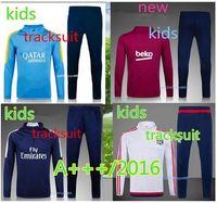 plain jerseys - Top quality survetement verratti matuidi cavani di maria zlatan maillot de foot kids Jersey