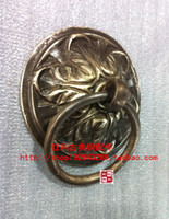 Wholesale accessories antique copper copper bonus classical Accessories flower shaped cm door knocker door handle