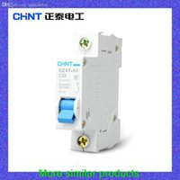 Wholesale Chint breaker DZ47 P A C32 miniature circuit breakers for household air switch circuit protector