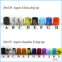 Wholesale electronic cigarettes accessory acrylic vaping mouthpiece fit for Aspire drip tip