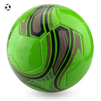 Wholesale Foaming PVC Football Size Plesant Goat and Big Wolf Soccer Balls MEN Sports Training Equipment