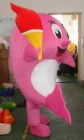 athletics animators - JYQ ocean pink whale mascot animal mascot costumes for adults fancy dress costumes for kids costumes for animators
