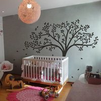 bedroom design inspiration - White Tree Wall Sticker Inspiration Baby Nursery Room Removable Vinyl Art Decor DIY Wall Decals inches colors