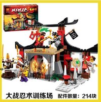 Wholesale New BELA Dojo Showdown Minifigures Ninja Jouet De Construction Ninjago Building Block as SY335 legoe Toys boy gift