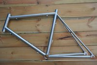 Wholesale 2016 new design C titanium road bike frame from China good supplier sample in stock for test