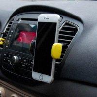 Universal 360 degrés Support voiture Téléphone Car Outlet Air Vent Mount Stand For Mobile Support de téléphone mobile GPS Support voiture