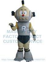 adult robot costume - Robot Mascot Costume Adult Anime Cosply Modern Robot Theme Custom Carnival MASCOTTE COSTUMES FANCY DRESS KITS