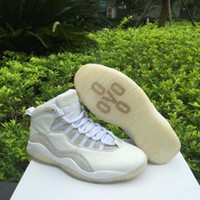 mens basketball - DROP SHIPPING Retro OVO Summit White Mens Basketball Sport Shoes ship with box size