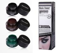 Wholesale Hot Brand Music Flower Eyeliner Gel Makeup Colors Gel Eye Liner Waterproof Long Lasting Hours High Quality Cosmetics