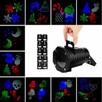 Wholesale Christmas Snowflake Projector Waterproof Lens LED Ambient Party Light Stage Lighting for Kids Birthday Halloween Xmas Gifts