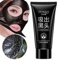 Wholesale 2016 Brand Skin Care BIOAQUA Facial Blackhead Remover Deep Cleaner Mask Suction Anti Acne Treatments Black Head peel off Mask g