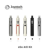 alo white - 100 Original Joyetech Alo Kit Large Stock Newest Joyetech eGo AlO In One eGo AIO with ml eGo AIO Starter Kit Genuine