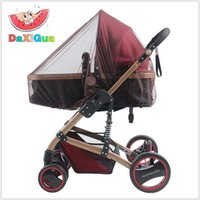 Wholesale Baby Stroller Pushchair Mosquito Insect Shield Net Safe Infants Protection Mesh Stroller Accessories Mosquito Net trq0085