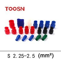 Wholesale TOOSN Sleeve Insulation Terminal Wire End Caps Insulated terminal connector V2