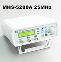 Wholesale new arrive MHS A Digital DDS Dual channel Signal Source Generator Arbitrary Waveform Frequency Meter MHz for laboratory teaching