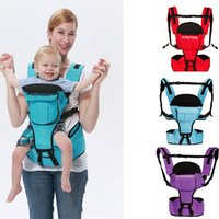 Wholesale 3color Baby Carriers Breathable Multifunctional Front Facing Carrier Waist Stool Infant Sling Backpack