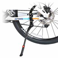 Wholesale Adjustable Aluminum Bike Bicycle Bicicleta Side Stick Stand Kickstand Accessories Black