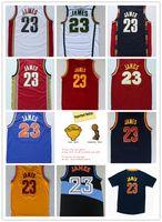 lebron james jersey - 2016 Champions Patch LeBron James Jersey St Vincent Mary High School Irish Movie TUNESQUAD Throwback LeBron James Shirt