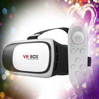 apple gamepad - Smart Glasses Vr box Bluetooth Gamepad Virtual Reality Glasses for Apple Samsung etc inch cell phone