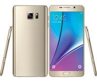 Goodphone 5,7 pulgadas 1: 1 Octa núcleo de 64 bits con Android 5.1 del teléfono celular Note5 3 GB de RAM 64 GB ROM Mostrar 4G LTE ojos de control GPS WIFI Smartphone libera la nave