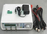 Wholesale NEW arrive High Precision Digital Dual channel DDS Signal Generator waveform generator USB TTL port PC Software MHz