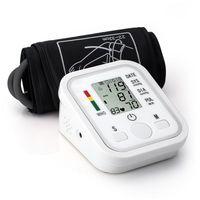 Wholesale Household Arm Blood Pressure Pulse Monitor Health care Monitors Digital Upper Portable Blood Pressure Monitor meters sphygmomanometer