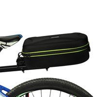 bicycle carriers - Quick Release MTB Bike Bicycle Bag Rear Seat Trunk Bag Carrying Luggage Package Carrier Pannier Shoulder Handbag