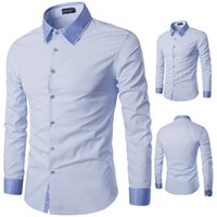 Wholesale new age season sale fashion men s shirts men long sleeve shirt is fine foreign trade code striped shirt Y502