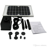 Wholesale 5W V Storage Electric type Solar Filter Water Pump kit Fountain Pool E00191 CAD