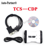 Cheap Wholesale-TCS CDP pro Plus with 2014 R2 software For BMW Diagnostic tools led cable on obd2 for Cars& Trucks 3 in1 without bluetooth