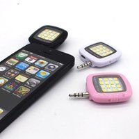 Wholesale LED Night Using Phone Camera Selfie Enhancing Flash Light For iPhone Samsung Mobile Phone