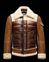 Wholesale New Retro Men s Down Outerwear Top Quality Santa Claus Winter Men Warmth jacket