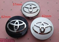 Wholesale 4pcs mm mm Corolla WISH VIOS Old COROLLA Prius car emblem Wheel Center Hub Caps Wheel Dust proof badge covers accessories