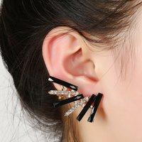 Wholesale New Arrival Popular Ear Jewelry Diamond Earrings Geometric Fashion Unilateral Ear Clip Ear Clip
