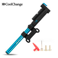 Wholesale CoolChange bicycle pump household high pressure inflator pump mini portable hand pump special mountain bike pump