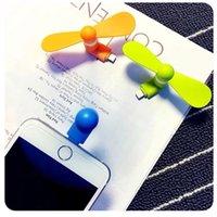 Wholesale 2016 new phone fan apple Android mobile phone small fan USB mobile power mini fan static