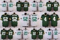 aaron rodgers jersey cheap - 2016 Cheap Aaron Rodgers Packers Jerseys Green White Clay Matthews Jordy Nelson Randall Cobb Eddie Lacy Ha Ha Clinton Dix
