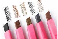 Wholesale X Women Lady Waterproof Brown Eyebrow Pencil Eye Brow Liner Pen Powder Shaper Drawing Card Grooming Shaping Makeup Tool