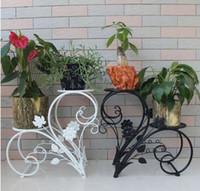 best pot holder - Iron Flower Pot Rack Home Garden Decor Display Stand Bonsai Holder Your Best Choice