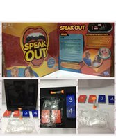 Wholesale THE HOT SEAL Speak Out Game KTV party game cards for party Christmas gift newest best selling toy