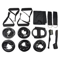 anchor fitness - 150lbs Fitness Resistance Bands Set Body Building Resistance Tube Kit with Door Anchor for Travel Home Gym Workout