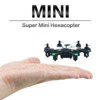 Wholesale HJ W609 CH GHz Radio Control RC Drones Hexacopter w D Flip RTF TRC D Inverted Flight BLACK