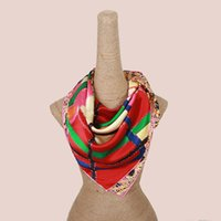 Wholesale New arrived high quality patchwork silk shawls big brand luxury women s scarves size cm